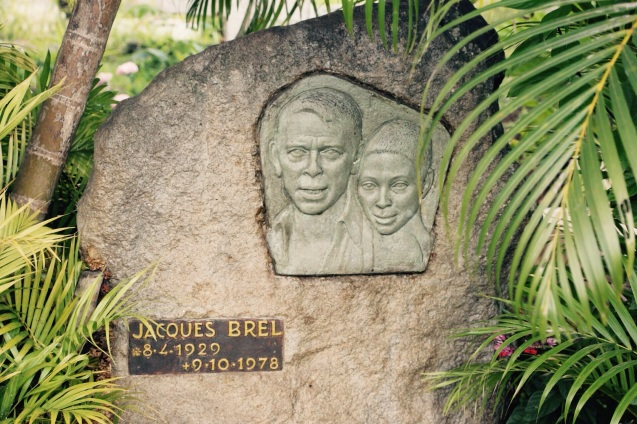 Tombe de Jacques Brel