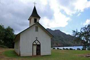 Église du Sacré-Cœur de Puamau (Hiva-Oa)