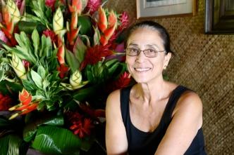 Tumata Robinson, chorégraphe de la compagnie Tahiti Ora
