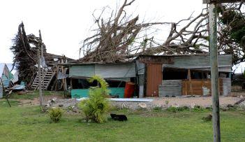 Île Makogai (Fidji) - Deux mois après le passage du cyclone