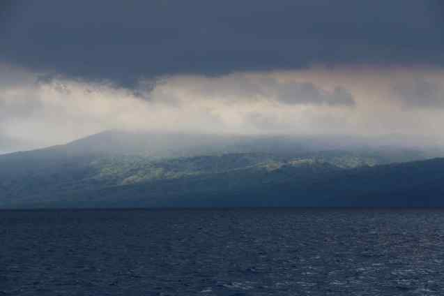Les fumées du volcan Marum - Ambrym