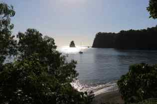 Mouillage à Ambae