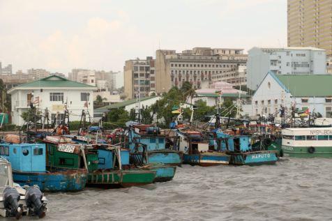 Le port de pêche où Florestan s'est réfugié pour le réveillon de Noël